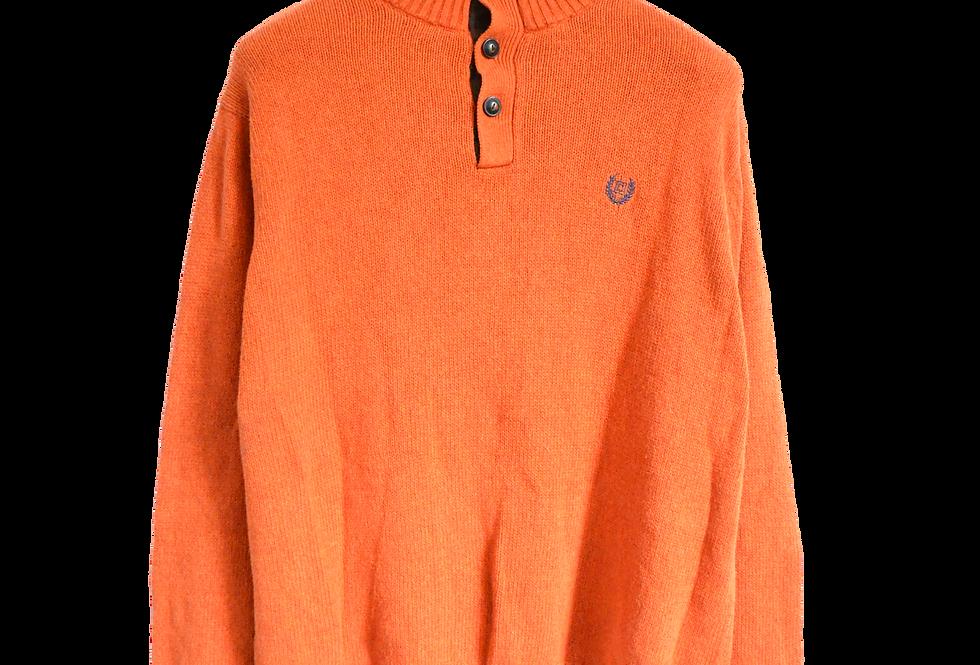 Ralph Lauren Chaps Knitted Daddy Sweatshirt Orange L