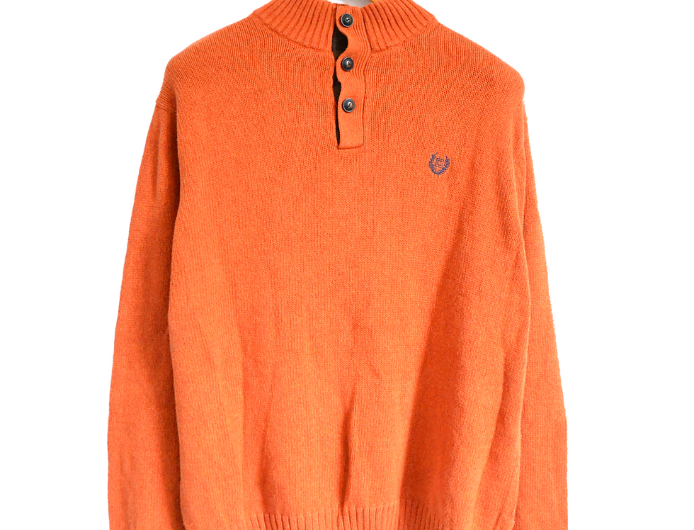 Ralph Lauren Chaps Knitted Daddy Sweatshirt Orange L
