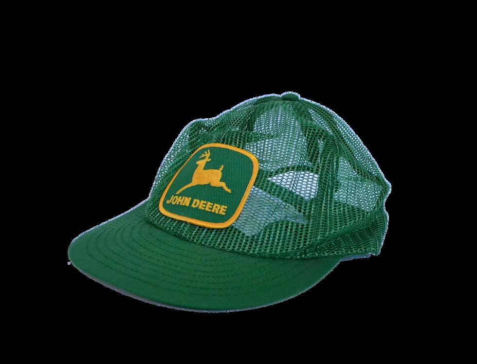 John Deere Nett Flat Cap