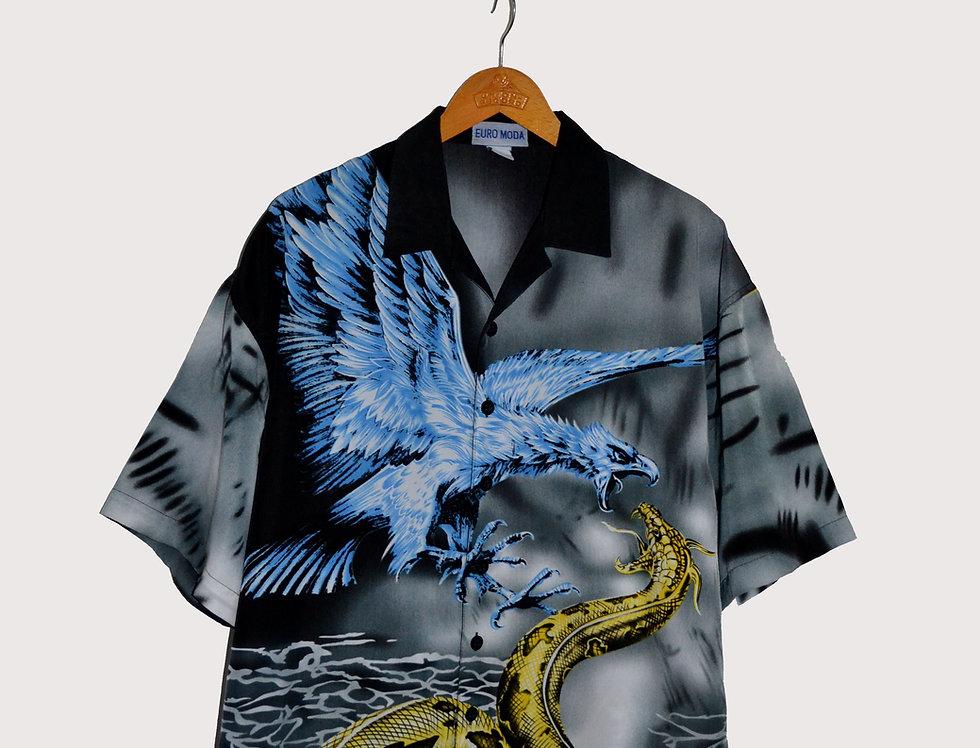 Dragon Full Print Shirt XXL