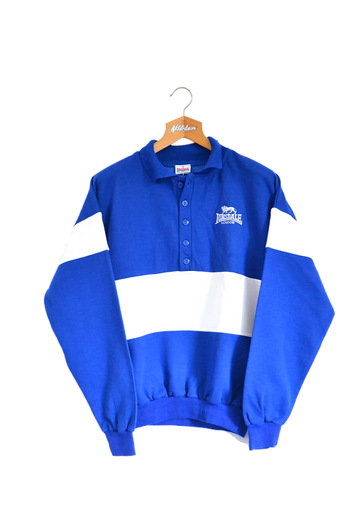 Lonsdale  Polo Sweatshirt *Deadstock* L