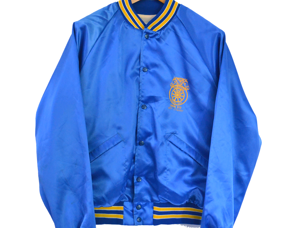 Teamster USA Glossy 90's College Jacket