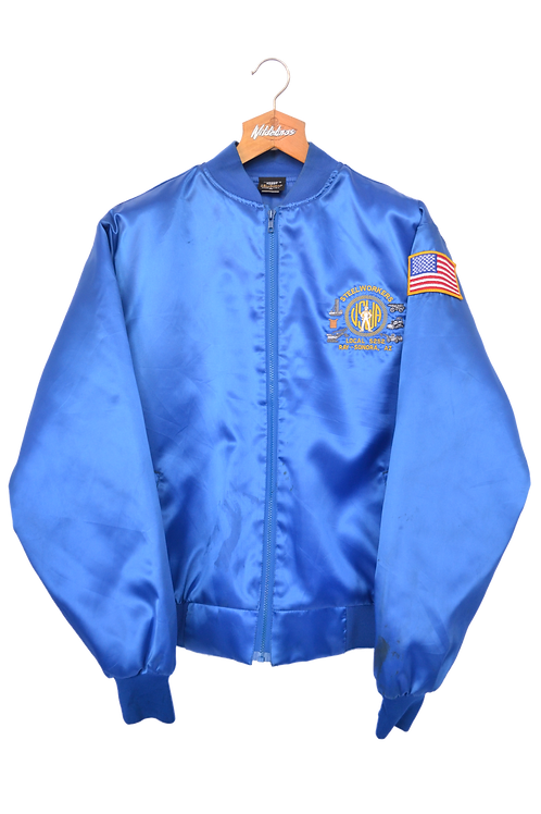 USA Steelworkers Varsity Jacket L