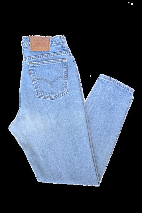 Levi's 512 Slim Fit Tapered Leg Women's Jeans 33