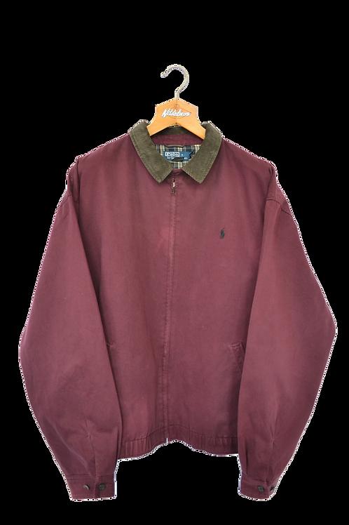 Ralph Lauren Harrington Jacket Bordeaux Navy XXL