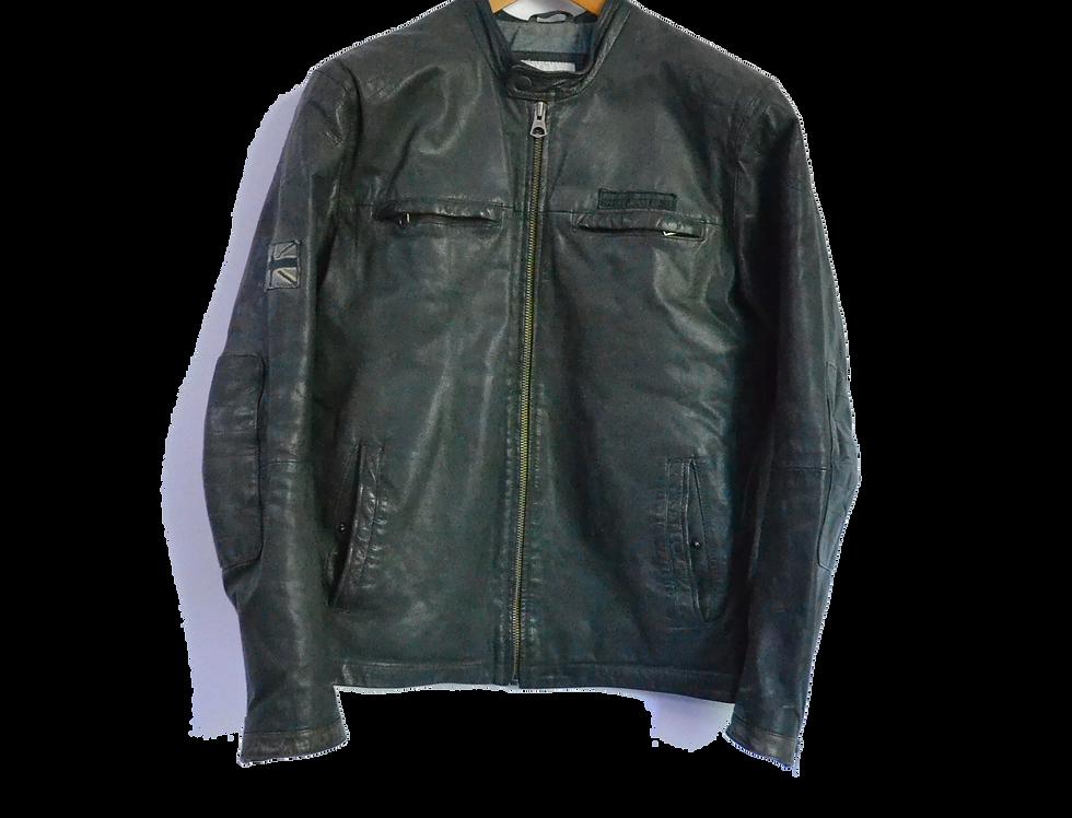 Pepe Jeans UK Leather Jacket M