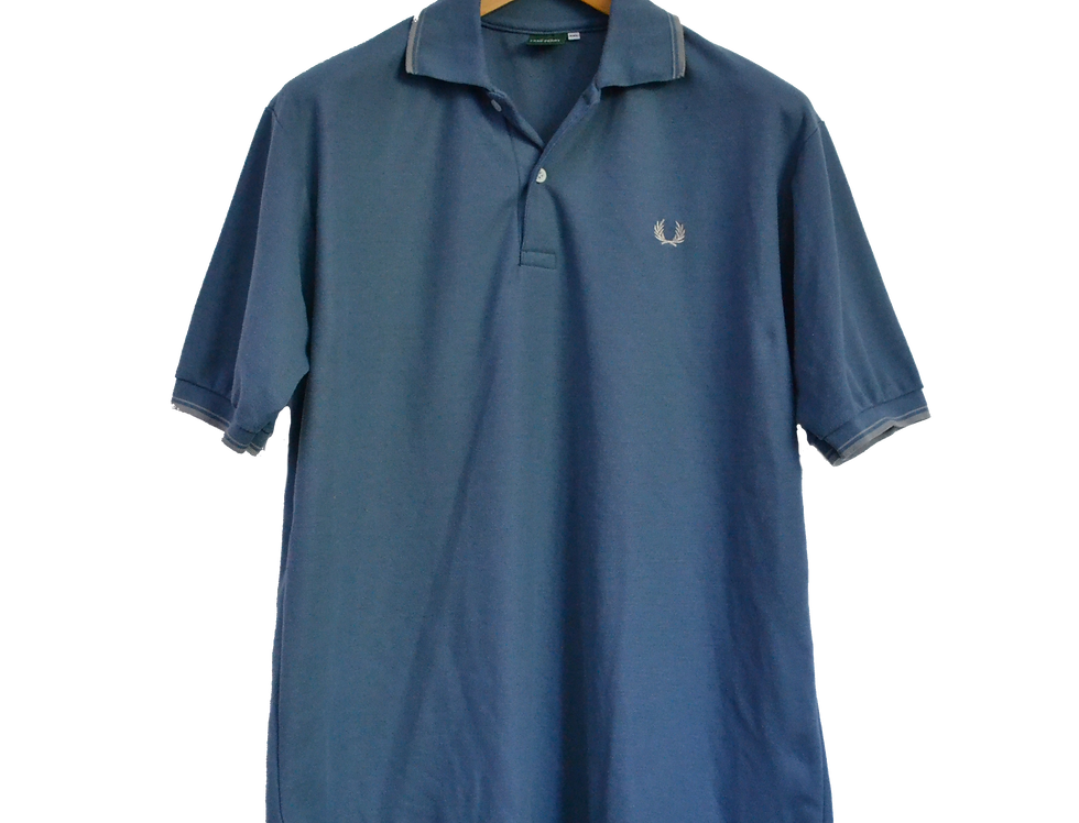 Fred Perry Navy Blue Logo Polo XXL