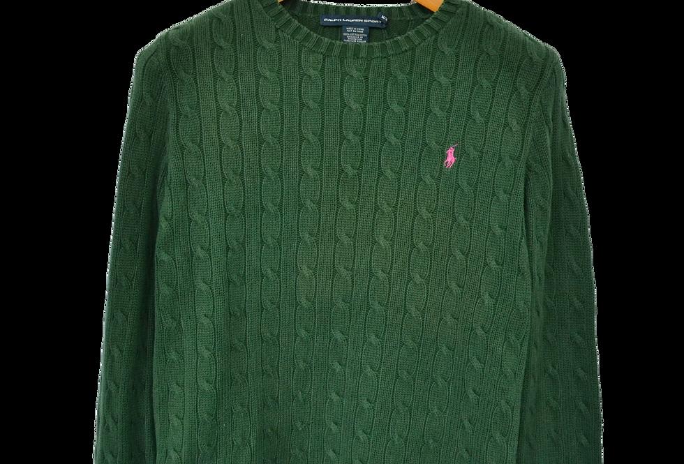 Ralph Lauren Sport Knitted Sweatshirt M