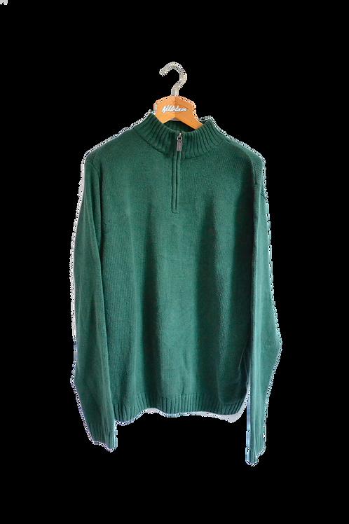 Ralph Lauren Chaps Knitted Sweatshirt Green XL