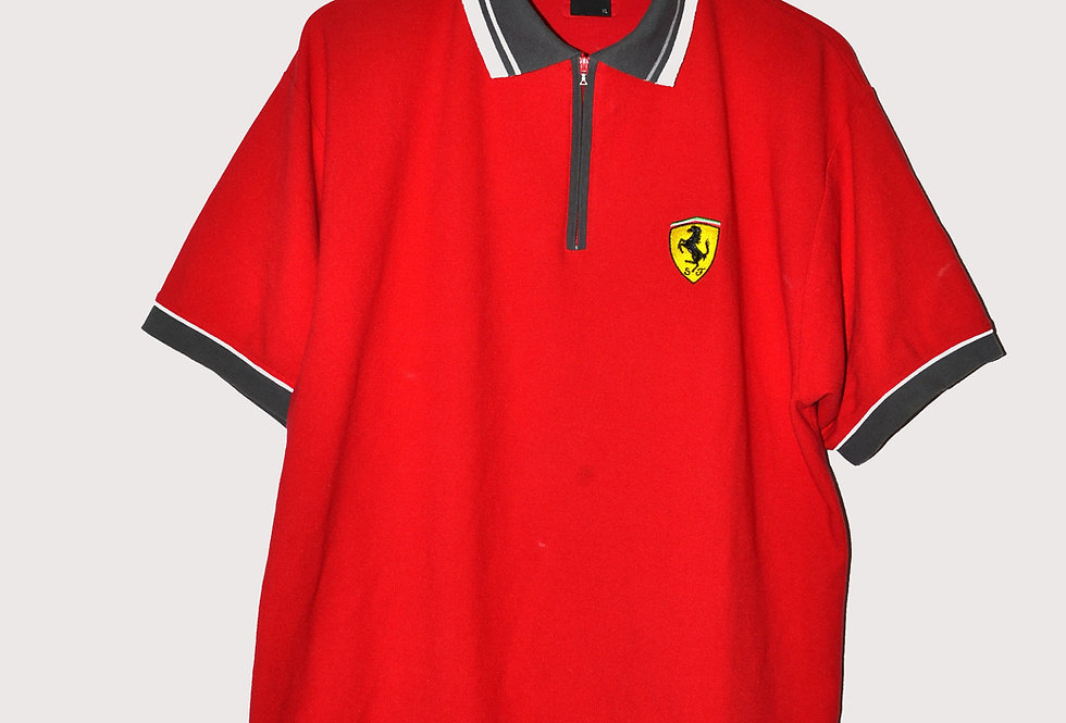 Ferrari Zipper Polo XL