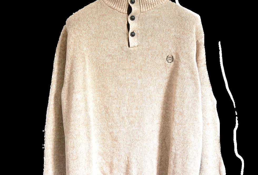 Ralph Lauren Chaps Knitted Sweatshirt Beige XXL