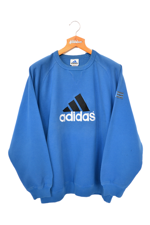 Adidas early 00's Spellout Sweatshirt L