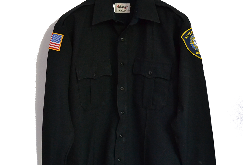 Essex County College Police Academy Official Uniform Shirt XL
