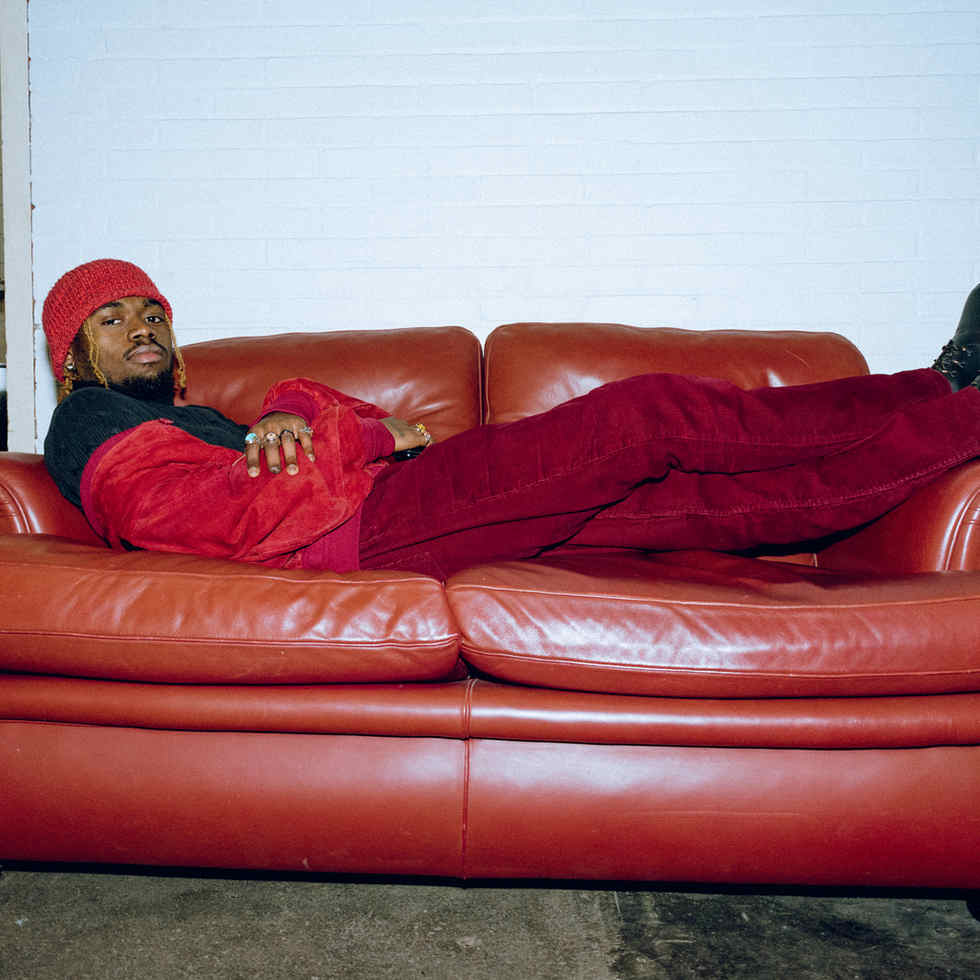 Wildebras Vintage outfit red jacket red pants
