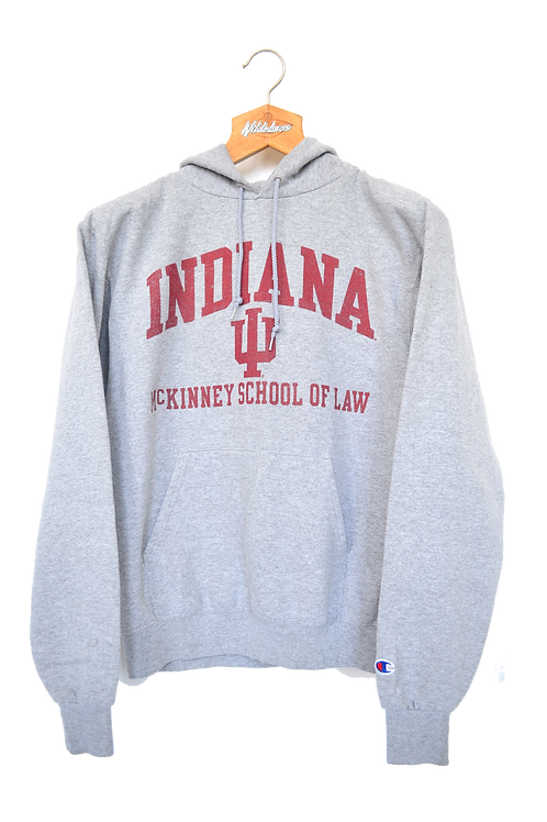 Champion Indiana McKinney School of Law Hoodie S
