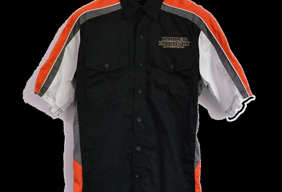 Harley Davidson Embroidered Shirt M