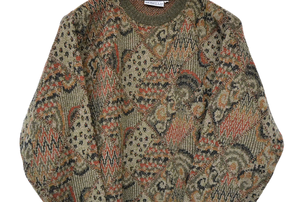 "Monello Patterned Jumper ""Red"" L"