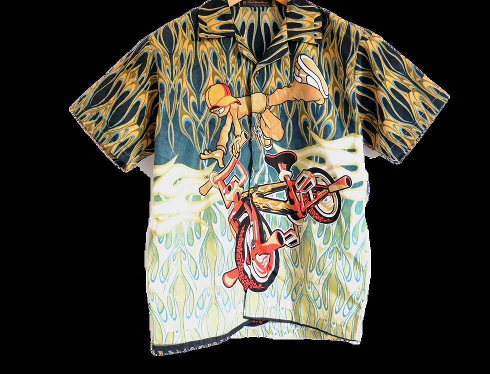 00's BMX Graphic shirt XXS