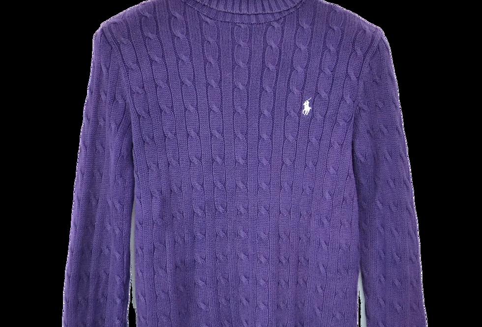 Ralph Lauren Knitted Turtle Neck Purple M