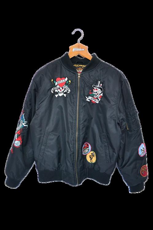 Ed Hardy Bomber Jacket L