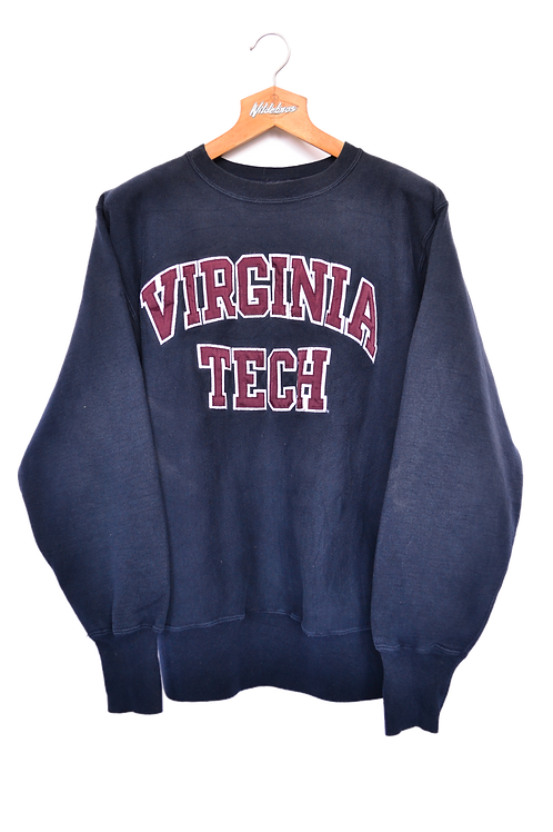 1993 Virginia Tech University Football Sweatshirt XL