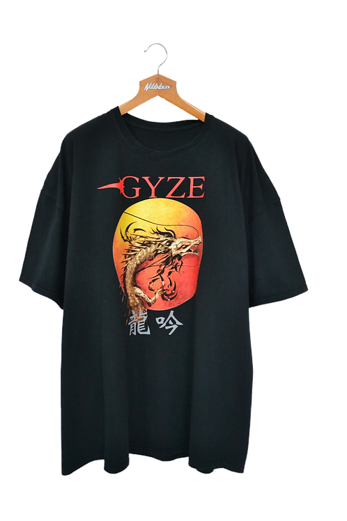 Gyzen The Rising Dragon 2018 Tour Band Tee 5XL