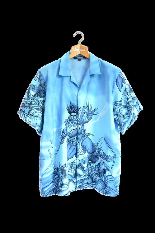Samoan Warrior Graphic Shirt M