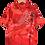 Thumbnail: Red Dragon Graphic Shirt L