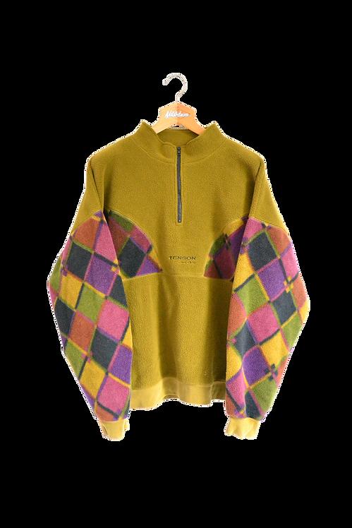 Tenson Polartec Aztec Print Fleece Jacket XXL