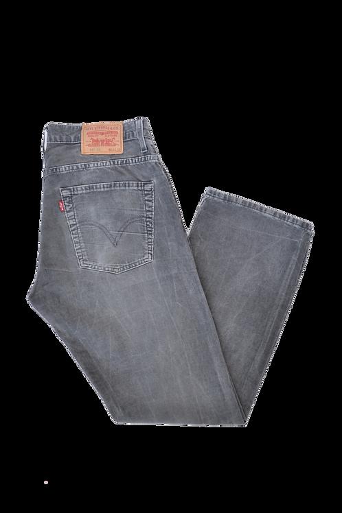 Levi's 507 Corduroy Bootcut trousers 33