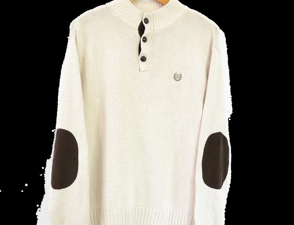Vintage Chaps Sweatshirt White
