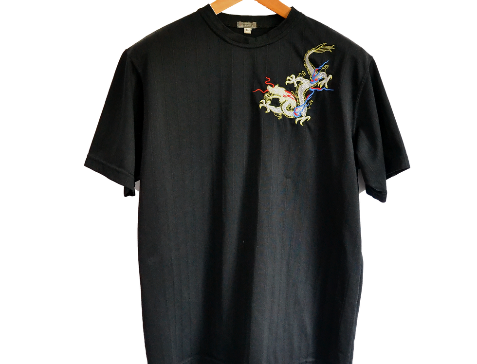 Chinese Style Dragon Tee M