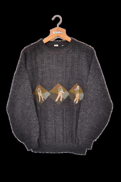 Italian Made Golfer knitted Jumper M
