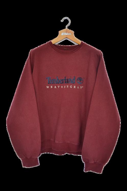 "90s Timberland ""Weathergear"" Spellout Sweatshirt XL"