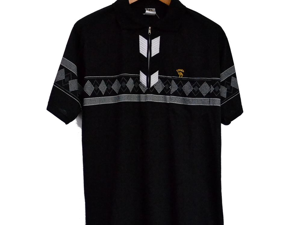 Camel Cigarettes Pattern Polo M