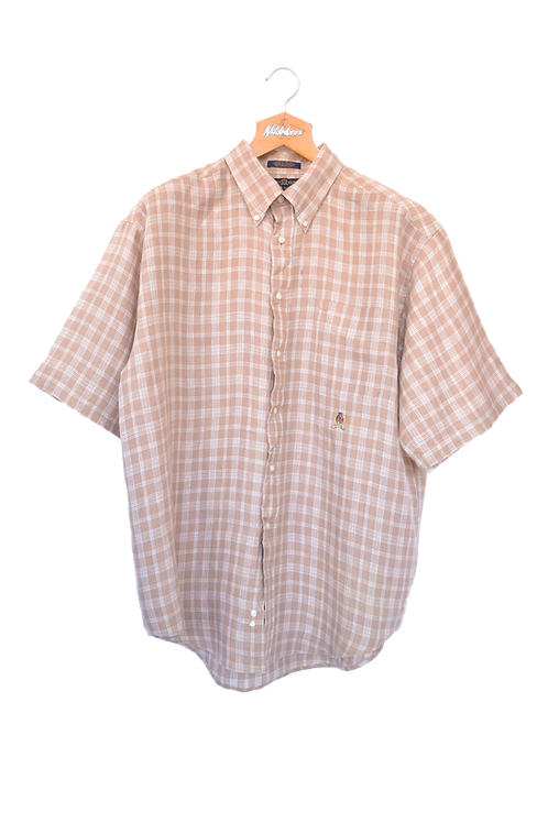 Tommy Hilfiger 90s Short sleeved Shirt Beige XL