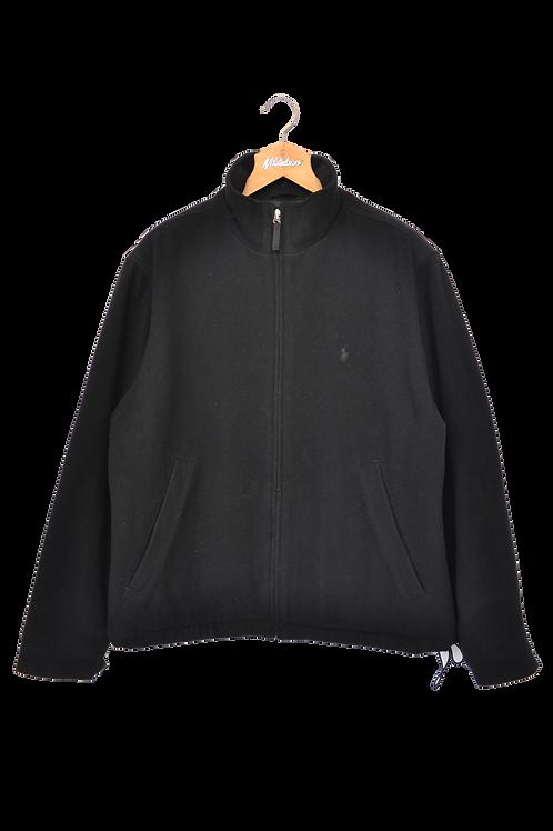 Ralph Lauren Wool Coat Black XL