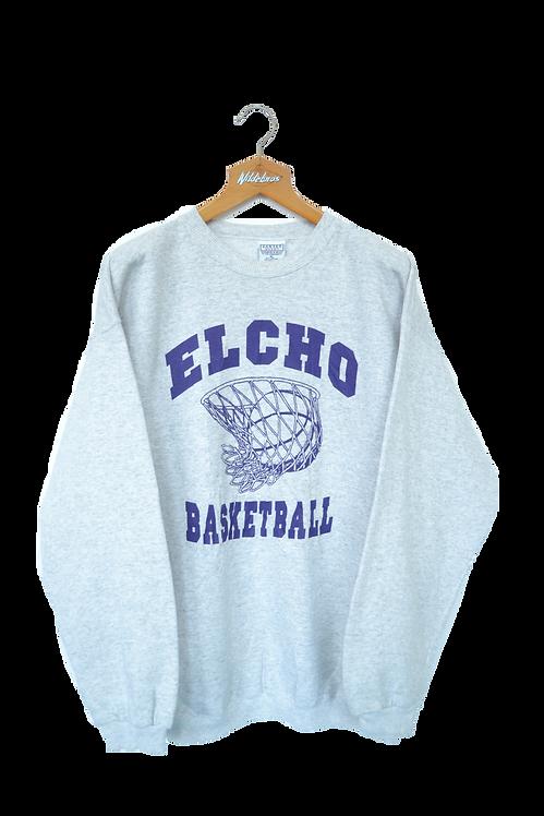 Elcho Highschool (Wisconsin) Basketball Sweatshirt XXL