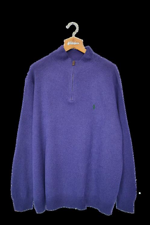 Ralph Lauren Merino Wool 1/4 Sweatshirt XXXL