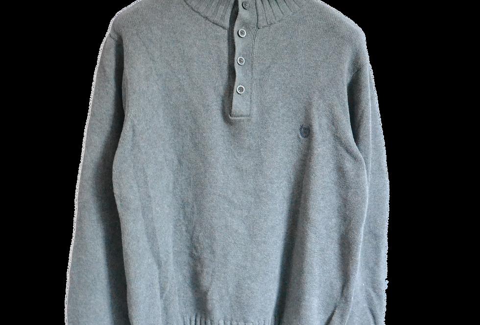 Ralph Lauren Chaps Knitted Sweatshirt Grey L