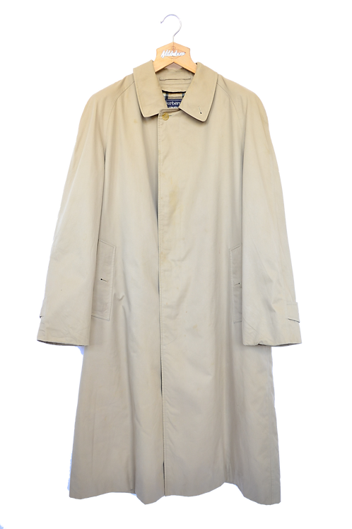 Burberrys of London Single Breasted Trench Coat beige L