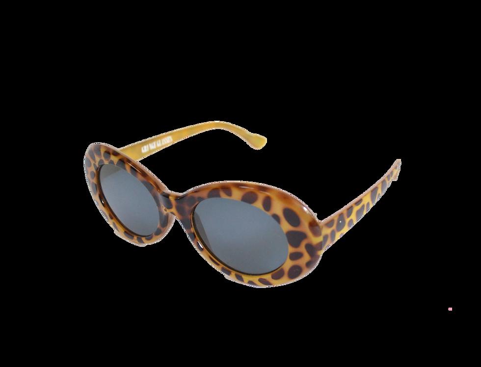 Panther Print Grunge Sunglasses