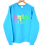 Thumbnail: 1992 USA Spring Valley Golf Course Rainbow Spellout Sweatshirt L