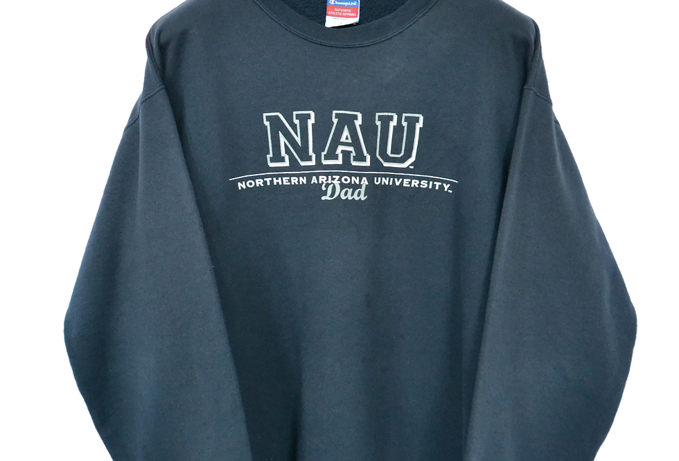 "Champion Northern Arizona University ""Dad"" Sweatshirt XL"