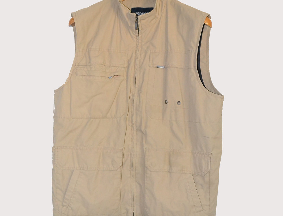 McGregor Cargo Vest Sleeveless L