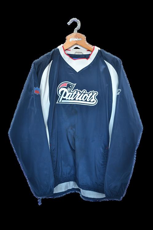 Reebok NFL Zip-less Patriots Jacket L