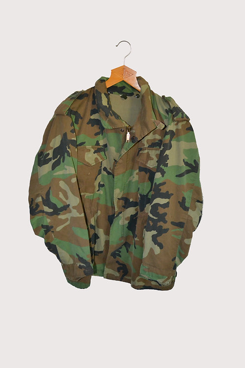 Dutch Army Padded Jacket with Hood (in collar)  L