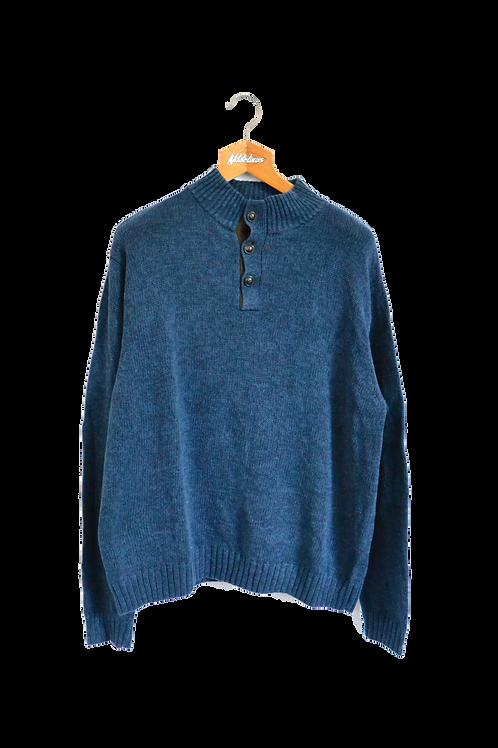 Ralph Lauren Chaps Knitted Sweatshirt Navy XL