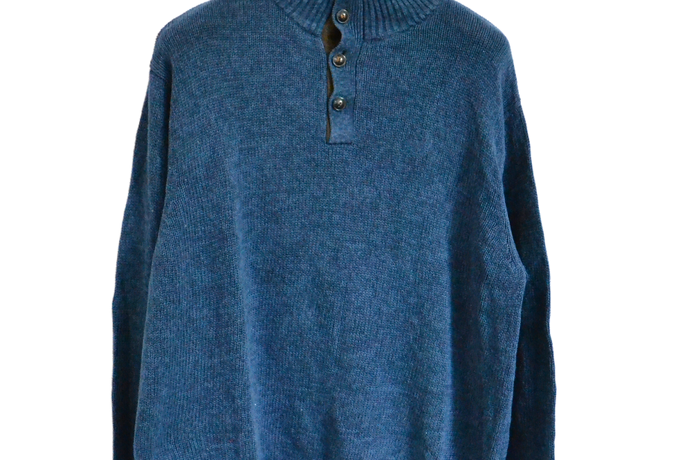 Ralph Lauren Chaps Knitted Sweatshirt Navy XL