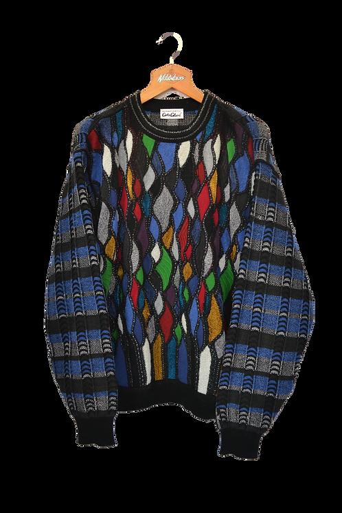 Carlo Colucci 3D knit Jumper XL